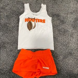 Authentic Hooters outfit